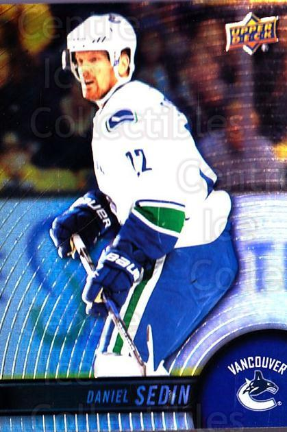 2017-18 Tim Hortons #22 Daniel Sedin<br/>3 In Stock - $1.00 each - <a href=https://centericecollectibles.foxycart.com/cart?name=2017-18%20Tim%20Hortons%20%2322%20Daniel%20Sedin...&price=$1.00&code=705991 class=foxycart> Buy it now! </a>