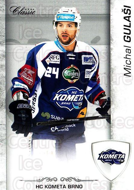 2017-18 Czech OFS Classic #4 Michal Gulasi<br/>1 In Stock - $2.00 each - <a href=https://centericecollectibles.foxycart.com/cart?name=2017-18%20Czech%20OFS%20Classic%20%234%20Michal%20Gulasi...&quantity_max=1&price=$2.00&code=706134 class=foxycart> Buy it now! </a>