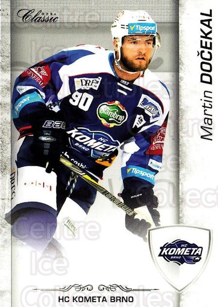 2017-18 Czech OFS Classic #13 Martin Docekal<br/>2 In Stock - $2.00 each - <a href=https://centericecollectibles.foxycart.com/cart?name=2017-18%20Czech%20OFS%20Classic%20%2313%20Martin%20Docekal...&quantity_max=2&price=$2.00&code=706143 class=foxycart> Buy it now! </a>