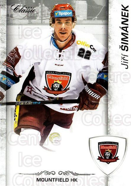 2017-18 Czech OFS Classic #42 Jiri Simanek<br/>2 In Stock - $2.00 each - <a href=https://centericecollectibles.foxycart.com/cart?name=2017-18%20Czech%20OFS%20Classic%20%2342%20Jiri%20Simanek...&quantity_max=2&price=$2.00&code=706172 class=foxycart> Buy it now! </a>