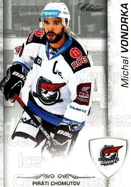 2017-18 Czech OFS Classic #51 Michal Vondrka<br/>2 In Stock - $2.00 each - <a href=https://centericecollectibles.foxycart.com/cart?name=2017-18%20Czech%20OFS%20Classic%20%2351%20Michal%20Vondrka...&quantity_max=2&price=$2.00&code=706181 class=foxycart> Buy it now! </a>