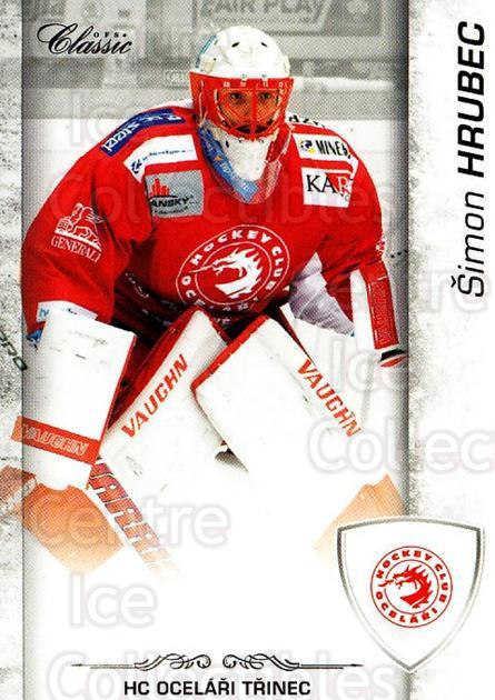2017-18 Czech OFS Classic #58 Simon Hrubec<br/>1 In Stock - $2.00 each - <a href=https://centericecollectibles.foxycart.com/cart?name=2017-18%20Czech%20OFS%20Classic%20%2358%20Simon%20Hrubec...&quantity_max=1&price=$2.00&code=706188 class=foxycart> Buy it now! </a>