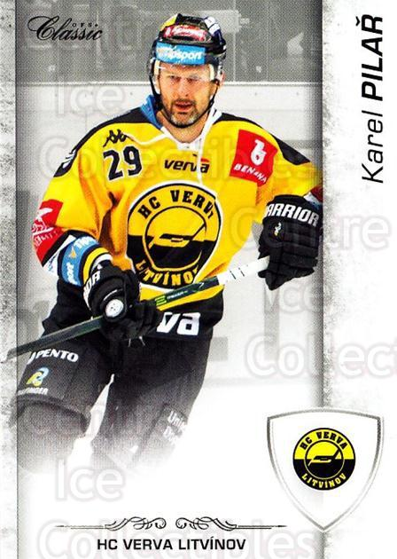 2017-18 Czech OFS Classic #89 Karel Pilar<br/>2 In Stock - $2.00 each - <a href=https://centericecollectibles.foxycart.com/cart?name=2017-18%20Czech%20OFS%20Classic%20%2389%20Karel%20Pilar...&quantity_max=2&price=$2.00&code=706219 class=foxycart> Buy it now! </a>