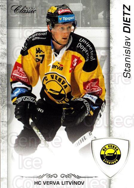 2017-18 Czech OFS Classic #91 Stanislav Dietz<br/>2 In Stock - $2.00 each - <a href=https://centericecollectibles.foxycart.com/cart?name=2017-18%20Czech%20OFS%20Classic%20%2391%20Stanislav%20Dietz...&quantity_max=2&price=$2.00&code=706221 class=foxycart> Buy it now! </a>