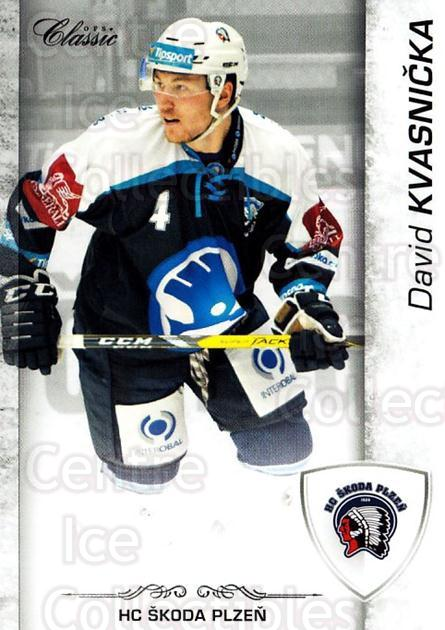 2017-18 Czech OFS Classic #106 David Kvasnicka<br/>2 In Stock - $2.00 each - <a href=https://centericecollectibles.foxycart.com/cart?name=2017-18%20Czech%20OFS%20Classic%20%23106%20David%20Kvasnicka...&quantity_max=2&price=$2.00&code=706236 class=foxycart> Buy it now! </a>