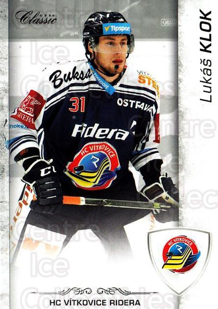 2017-18 Czech OFS Classic #119 Lukas Klok<br/>2 In Stock - $2.00 each - <a href=https://centericecollectibles.foxycart.com/cart?name=2017-18%20Czech%20OFS%20Classic%20%23119%20Lukas%20Klok...&quantity_max=2&price=$2.00&code=706249 class=foxycart> Buy it now! </a>