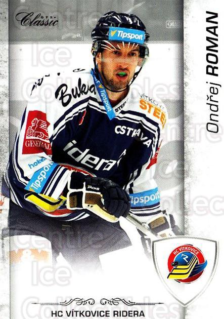 2017-18 Czech OFS Classic #123 Ondrej Roman<br/>1 In Stock - $2.00 each - <a href=https://centericecollectibles.foxycart.com/cart?name=2017-18%20Czech%20OFS%20Classic%20%23123%20Ondrej%20Roman...&quantity_max=1&price=$2.00&code=706253 class=foxycart> Buy it now! </a>