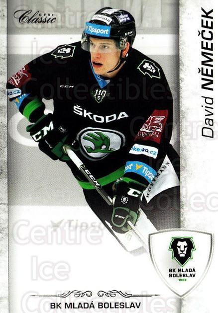2017-18 Czech OFS Classic #136 David Nemecek<br/>2 In Stock - $2.00 each - <a href=https://centericecollectibles.foxycart.com/cart?name=2017-18%20Czech%20OFS%20Classic%20%23136%20David%20Nemecek...&quantity_max=2&price=$2.00&code=706266 class=foxycart> Buy it now! </a>