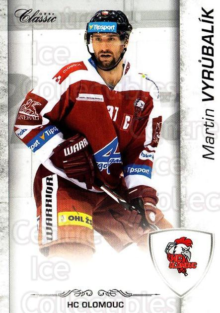 2017-18 Czech OFS Classic #147 Martin Vyrubalik<br/>2 In Stock - $2.00 each - <a href=https://centericecollectibles.foxycart.com/cart?name=2017-18%20Czech%20OFS%20Classic%20%23147%20Martin%20Vyrubali...&quantity_max=2&price=$2.00&code=706277 class=foxycart> Buy it now! </a>