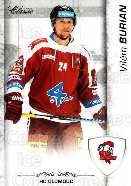 2017-18 Czech OFS Classic #153 Vilem Burian<br/>2 In Stock - $2.00 each - <a href=https://centericecollectibles.foxycart.com/cart?name=2017-18%20Czech%20OFS%20Classic%20%23153%20Vilem%20Burian...&quantity_max=2&price=$2.00&code=706283 class=foxycart> Buy it now! </a>