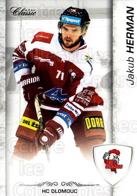 2017-18 Czech OFS Classic #154 Jakub Herman<br/>2 In Stock - $2.00 each - <a href=https://centericecollectibles.foxycart.com/cart?name=2017-18%20Czech%20OFS%20Classic%20%23154%20Jakub%20Herman...&quantity_max=2&price=$2.00&code=706284 class=foxycart> Buy it now! </a>