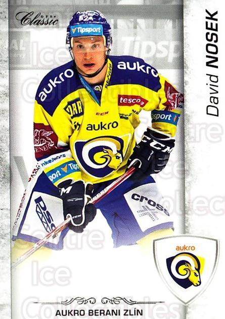 2017-18 Czech OFS Classic #163 David Nosek<br/>2 In Stock - $2.00 each - <a href=https://centericecollectibles.foxycart.com/cart?name=2017-18%20Czech%20OFS%20Classic%20%23163%20David%20Nosek...&quantity_max=2&price=$2.00&code=706293 class=foxycart> Buy it now! </a>