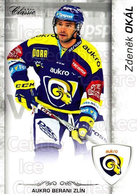 2017-18 Czech OFS Classic #168 Zdenek Okal<br/>1 In Stock - $2.00 each - <a href=https://centericecollectibles.foxycart.com/cart?name=2017-18%20Czech%20OFS%20Classic%20%23168%20Zdenek%20Okal...&quantity_max=1&price=$2.00&code=706298 class=foxycart> Buy it now! </a>
