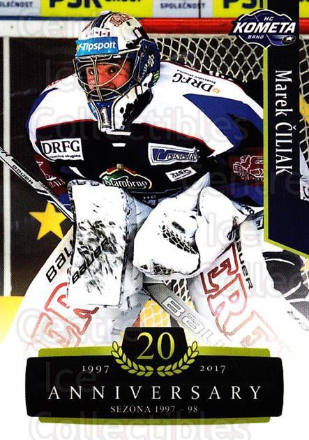2017-18 Czech OFS Classic Anniversary #1 Marek Ciliak<br/>1 In Stock - $2.00 each - <a href=https://centericecollectibles.foxycart.com/cart?name=2017-18%20Czech%20OFS%20Classic%20Anniversary%20%231%20Marek%20Ciliak...&quantity_max=1&price=$2.00&code=706331 class=foxycart> Buy it now! </a>
