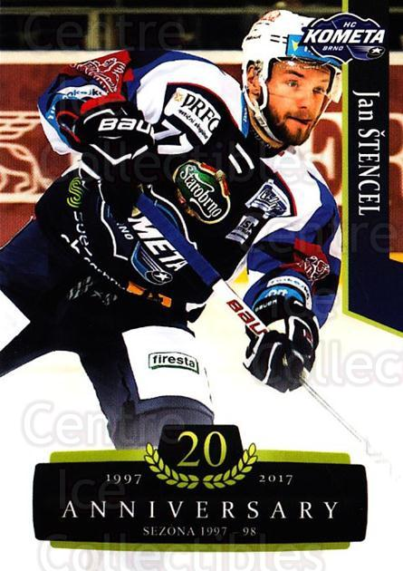 2017-18 Czech OFS Classic Anniversary #7 Jan Stencel<br/>2 In Stock - $2.00 each - <a href=https://centericecollectibles.foxycart.com/cart?name=2017-18%20Czech%20OFS%20Classic%20Anniversary%20%237%20Jan%20Stencel...&quantity_max=2&price=$2.00&code=706337 class=foxycart> Buy it now! </a>