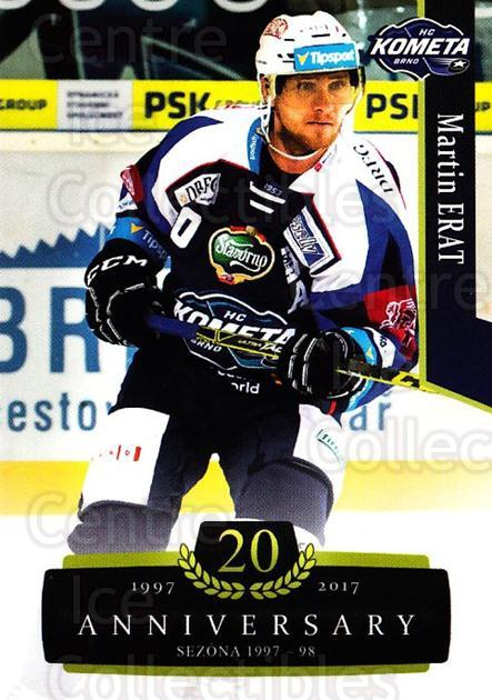 2017-18 Czech OFS Classic Anniversary #9 Martin Erat<br/>1 In Stock - $2.00 each - <a href=https://centericecollectibles.foxycart.com/cart?name=2017-18%20Czech%20OFS%20Classic%20Anniversary%20%239%20Martin%20Erat...&quantity_max=1&price=$2.00&code=706339 class=foxycart> Buy it now! </a>