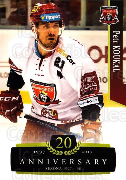 2017-18 Czech OFS Classic Anniversary #38 Petr Koukal<br/>2 In Stock - $2.00 each - <a href=https://centericecollectibles.foxycart.com/cart?name=2017-18%20Czech%20OFS%20Classic%20Anniversary%20%2338%20Petr%20Koukal...&quantity_max=2&price=$2.00&code=706368 class=foxycart> Buy it now! </a>
