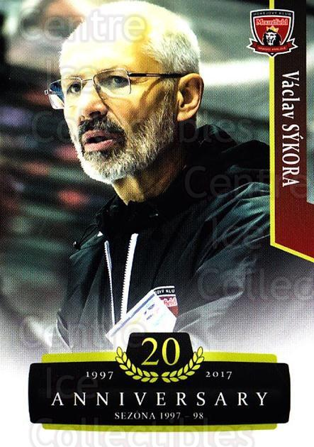 2017-18 Czech OFS Classic Anniversary #43 Vaclav Sykora<br/>2 In Stock - $2.00 each - <a href=https://centericecollectibles.foxycart.com/cart?name=2017-18%20Czech%20OFS%20Classic%20Anniversary%20%2343%20Vaclav%20Sykora...&quantity_max=2&price=$2.00&code=706373 class=foxycart> Buy it now! </a>