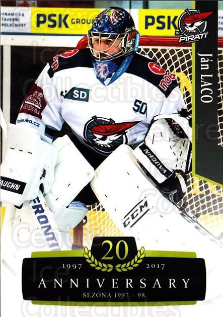 2017-18 Czech OFS Classic Anniversary #44 John Laco<br/>2 In Stock - $2.00 each - <a href=https://centericecollectibles.foxycart.com/cart?name=2017-18%20Czech%20OFS%20Classic%20Anniversary%20%2344%20John%20Laco...&quantity_max=2&price=$2.00&code=706374 class=foxycart> Buy it now! </a>
