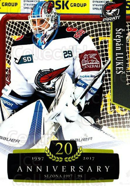 2017-18 Czech OFS Classic Anniversary #45 Stepan Lukes<br/>2 In Stock - $2.00 each - <a href=https://centericecollectibles.foxycart.com/cart?name=2017-18%20Czech%20OFS%20Classic%20Anniversary%20%2345%20Stepan%20Lukes...&quantity_max=2&price=$2.00&code=706375 class=foxycart> Buy it now! </a>