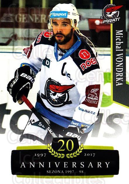2017-18 Czech OFS Classic Anniversary #51 Michal Vondrka<br/>2 In Stock - $2.00 each - <a href=https://centericecollectibles.foxycart.com/cart?name=2017-18%20Czech%20OFS%20Classic%20Anniversary%20%2351%20Michal%20Vondrka...&quantity_max=2&price=$2.00&code=706381 class=foxycart> Buy it now! </a>