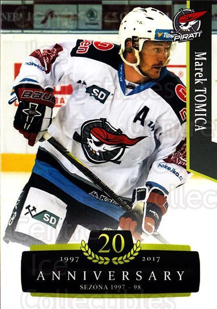 2017-18 Czech OFS Classic Anniversary #54 Marek Tomica<br/>2 In Stock - $2.00 each - <a href=https://centericecollectibles.foxycart.com/cart?name=2017-18%20Czech%20OFS%20Classic%20Anniversary%20%2354%20Marek%20Tomica...&quantity_max=2&price=$2.00&code=706384 class=foxycart> Buy it now! </a>