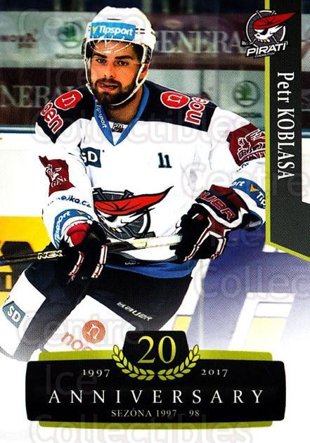 2017-18 Czech OFS Classic Anniversary #55 Petr Koblasa<br/>2 In Stock - $2.00 each - <a href=https://centericecollectibles.foxycart.com/cart?name=2017-18%20Czech%20OFS%20Classic%20Anniversary%20%2355%20Petr%20Koblasa...&quantity_max=2&price=$2.00&code=706385 class=foxycart> Buy it now! </a>