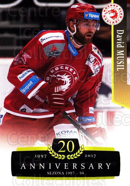 2017-18 Czech OFS Classic Anniversary #61 David Musil<br/>2 In Stock - $2.00 each - <a href=https://centericecollectibles.foxycart.com/cart?name=2017-18%20Czech%20OFS%20Classic%20Anniversary%20%2361%20David%20Musil...&quantity_max=2&price=$2.00&code=706391 class=foxycart> Buy it now! </a>