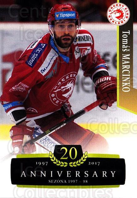 2017-18 Czech OFS Classic Anniversary #66 Tomas Marcinko<br/>2 In Stock - $2.00 each - <a href=https://centericecollectibles.foxycart.com/cart?name=2017-18%20Czech%20OFS%20Classic%20Anniversary%20%2366%20Tomas%20Marcinko...&quantity_max=2&price=$2.00&code=706396 class=foxycart> Buy it now! </a>