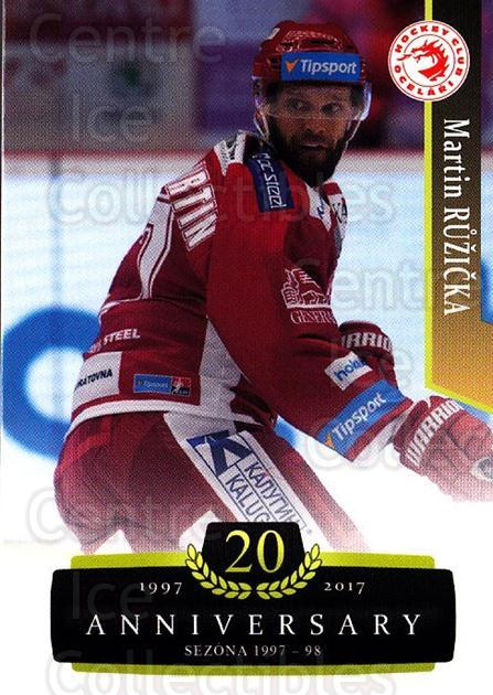 2017-18 Czech OFS Classic Anniversary #70 Martin Ruzicka<br/>2 In Stock - $2.00 each - <a href=https://centericecollectibles.foxycart.com/cart?name=2017-18%20Czech%20OFS%20Classic%20Anniversary%20%2370%20Martin%20Ruzicka...&quantity_max=2&price=$2.00&code=706400 class=foxycart> Buy it now! </a>