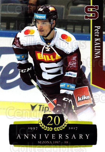 2017-18 Czech OFS Classic Anniversary #78 Petr Kalina<br/>2 In Stock - $2.00 each - <a href=https://centericecollectibles.foxycart.com/cart?name=2017-18%20Czech%20OFS%20Classic%20Anniversary%20%2378%20Petr%20Kalina...&quantity_max=2&price=$2.00&code=706408 class=foxycart> Buy it now! </a>