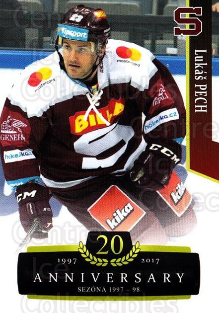 2017-18 Czech OFS Classic Anniversary #83 Lukas Pech<br/>2 In Stock - $2.00 each - <a href=https://centericecollectibles.foxycart.com/cart?name=2017-18%20Czech%20OFS%20Classic%20Anniversary%20%2383%20Lukas%20Pech...&quantity_max=2&price=$2.00&code=706413 class=foxycart> Buy it now! </a>