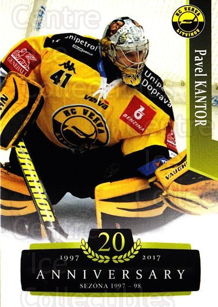 2017-18 Czech OFS Classic Anniversary #87 Pavel Kantor<br/>2 In Stock - $2.00 each - <a href=https://centericecollectibles.foxycart.com/cart?name=2017-18%20Czech%20OFS%20Classic%20Anniversary%20%2387%20Pavel%20Kantor...&quantity_max=2&price=$2.00&code=706417 class=foxycart> Buy it now! </a>