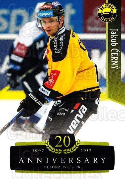 2017-18 Czech OFS Classic Anniversary #99 Jakub Cerny<br/>2 In Stock - $2.00 each - <a href=https://centericecollectibles.foxycart.com/cart?name=2017-18%20Czech%20OFS%20Classic%20Anniversary%20%2399%20Jakub%20Cerny...&quantity_max=2&price=$2.00&code=706429 class=foxycart> Buy it now! </a>