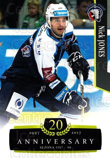 2017-18 Czech OFS Classic Anniversary #104 Nick Jones<br/>2 In Stock - $2.00 each - <a href=https://centericecollectibles.foxycart.com/cart?name=2017-18%20Czech%20OFS%20Classic%20Anniversary%20%23104%20Nick%20Jones...&quantity_max=2&price=$2.00&code=706434 class=foxycart> Buy it now! </a>