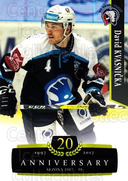 2017-18 Czech OFS Classic Anniversary #106 David Kvasnicka<br/>2 In Stock - $2.00 each - <a href=https://centericecollectibles.foxycart.com/cart?name=2017-18%20Czech%20OFS%20Classic%20Anniversary%20%23106%20David%20Kvasnicka...&quantity_max=2&price=$2.00&code=706436 class=foxycart> Buy it now! </a>