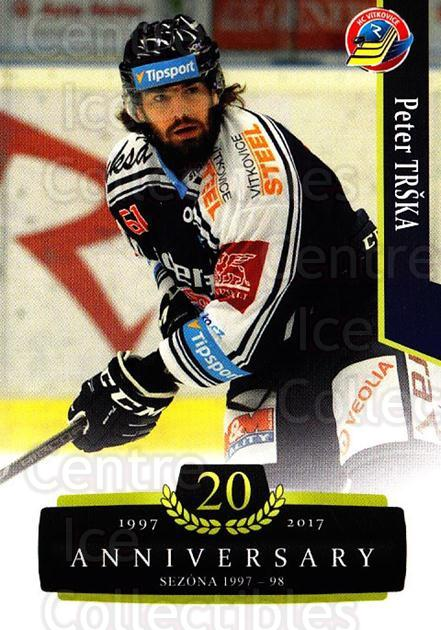 2017-18 Czech OFS Classic Anniversary #121 Peter Trska<br/>2 In Stock - $2.00 each - <a href=https://centericecollectibles.foxycart.com/cart?name=2017-18%20Czech%20OFS%20Classic%20Anniversary%20%23121%20Peter%20Trska...&quantity_max=2&price=$2.00&code=706451 class=foxycart> Buy it now! </a>
