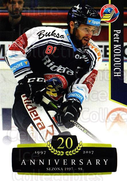 2017-18 Czech OFS Classic Anniversary #126 Petr Kolouch<br/>2 In Stock - $2.00 each - <a href=https://centericecollectibles.foxycart.com/cart?name=2017-18%20Czech%20OFS%20Classic%20Anniversary%20%23126%20Petr%20Kolouch...&quantity_max=2&price=$2.00&code=706456 class=foxycart> Buy it now! </a>