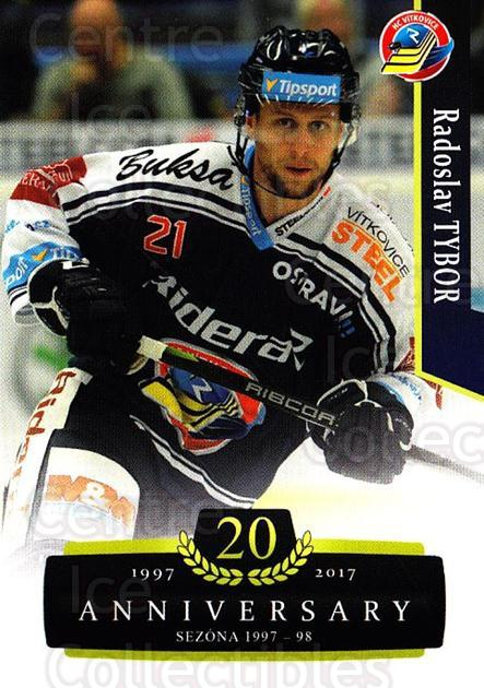 2017-18 Czech OFS Classic Anniversary #127 Radoslav Tybor<br/>2 In Stock - $2.00 each - <a href=https://centericecollectibles.foxycart.com/cart?name=2017-18%20Czech%20OFS%20Classic%20Anniversary%20%23127%20Radoslav%20Tybor...&quantity_max=2&price=$2.00&code=706457 class=foxycart> Buy it now! </a>