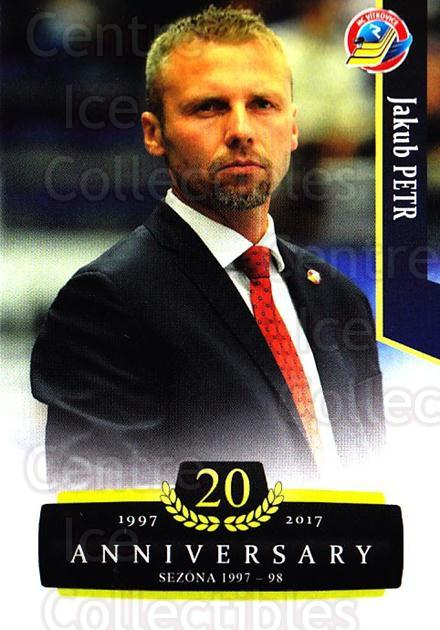 2017-18 Czech OFS Classic Anniversary #129 Jakub Petr<br/>2 In Stock - $2.00 each - <a href=https://centericecollectibles.foxycart.com/cart?name=2017-18%20Czech%20OFS%20Classic%20Anniversary%20%23129%20Jakub%20Petr...&quantity_max=2&price=$2.00&code=706459 class=foxycart> Buy it now! </a>