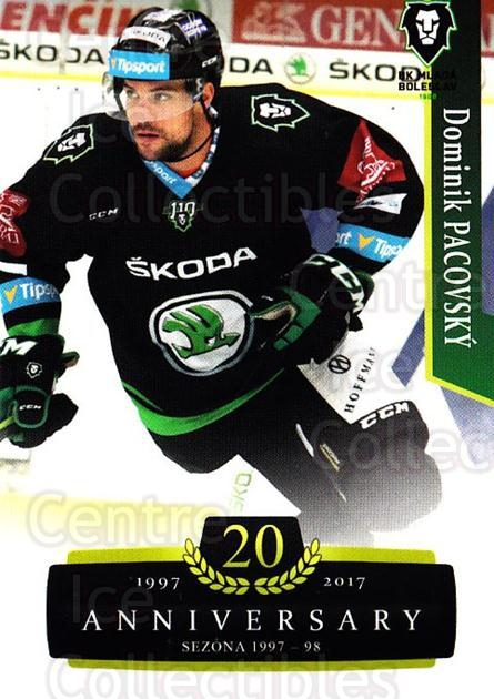 2017-18 Czech OFS Classic Anniversary #141 Dominik Pacovsky<br/>2 In Stock - $2.00 each - <a href=https://centericecollectibles.foxycart.com/cart?name=2017-18%20Czech%20OFS%20Classic%20Anniversary%20%23141%20Dominik%20Pacovsk...&quantity_max=2&price=$2.00&code=706471 class=foxycart> Buy it now! </a>