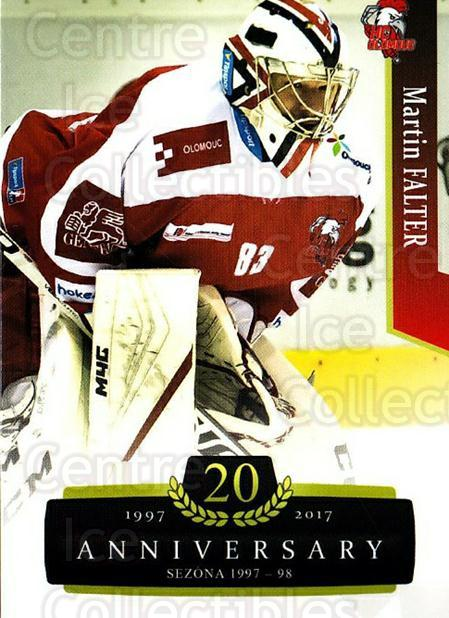 2017-18 Czech OFS Classic Anniversary #145 Martin Falter<br/>2 In Stock - $2.00 each - <a href=https://centericecollectibles.foxycart.com/cart?name=2017-18%20Czech%20OFS%20Classic%20Anniversary%20%23145%20Martin%20Falter...&quantity_max=2&price=$2.00&code=706475 class=foxycart> Buy it now! </a>