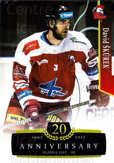 2017-18 Czech OFS Classic Anniversary #146 David Skurek<br/>2 In Stock - $2.00 each - <a href=https://centericecollectibles.foxycart.com/cart?name=2017-18%20Czech%20OFS%20Classic%20Anniversary%20%23146%20David%20Skurek...&quantity_max=2&price=$2.00&code=706476 class=foxycart> Buy it now! </a>