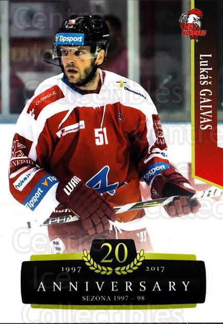2017-18 Czech OFS Classic Anniversary #148 Lukas Galvas<br/>2 In Stock - $2.00 each - <a href=https://centericecollectibles.foxycart.com/cart?name=2017-18%20Czech%20OFS%20Classic%20Anniversary%20%23148%20Lukas%20Galvas...&quantity_max=2&price=$2.00&code=706478 class=foxycart> Buy it now! </a>