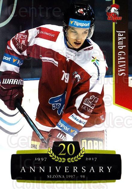 2017-18 Czech OFS Classic Anniversary #149 Jakub Galvas<br/>2 In Stock - $2.00 each - <a href=https://centericecollectibles.foxycart.com/cart?name=2017-18%20Czech%20OFS%20Classic%20Anniversary%20%23149%20Jakub%20Galvas...&quantity_max=2&price=$2.00&code=706479 class=foxycart> Buy it now! </a>