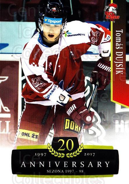 2017-18 Czech OFS Classic Anniversary #150 Tomas Dujsik<br/>2 In Stock - $2.00 each - <a href=https://centericecollectibles.foxycart.com/cart?name=2017-18%20Czech%20OFS%20Classic%20Anniversary%20%23150%20Tomas%20Dujsik...&quantity_max=2&price=$2.00&code=706480 class=foxycart> Buy it now! </a>