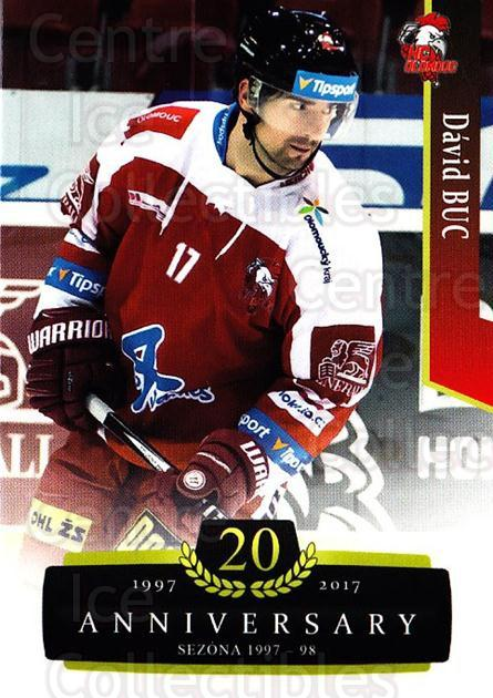 2017-18 Czech OFS Classic Anniversary #152 David Buc<br/>2 In Stock - $2.00 each - <a href=https://centericecollectibles.foxycart.com/cart?name=2017-18%20Czech%20OFS%20Classic%20Anniversary%20%23152%20David%20Buc...&quantity_max=2&price=$2.00&code=706482 class=foxycart> Buy it now! </a>