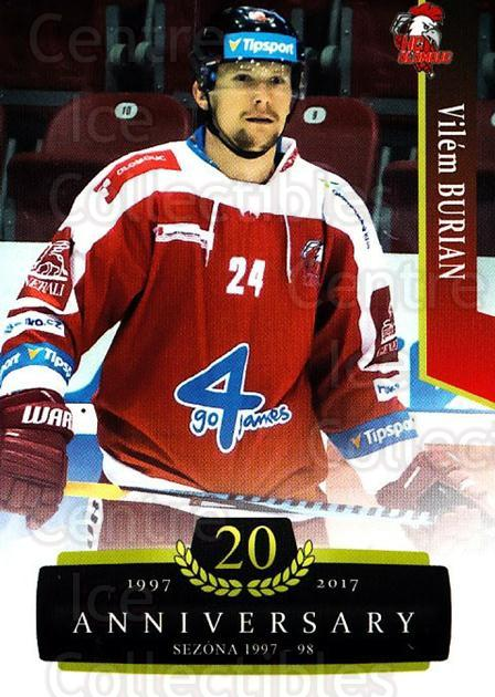 2017-18 Czech OFS Classic Anniversary #153 Vilem Burian<br/>2 In Stock - $2.00 each - <a href=https://centericecollectibles.foxycart.com/cart?name=2017-18%20Czech%20OFS%20Classic%20Anniversary%20%23153%20Vilem%20Burian...&quantity_max=2&price=$2.00&code=706483 class=foxycart> Buy it now! </a>