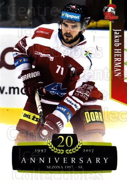 2017-18 Czech OFS Classic Anniversary #154 Jakub Herman<br/>2 In Stock - $2.00 each - <a href=https://centericecollectibles.foxycart.com/cart?name=2017-18%20Czech%20OFS%20Classic%20Anniversary%20%23154%20Jakub%20Herman...&quantity_max=2&price=$2.00&code=706484 class=foxycart> Buy it now! </a>
