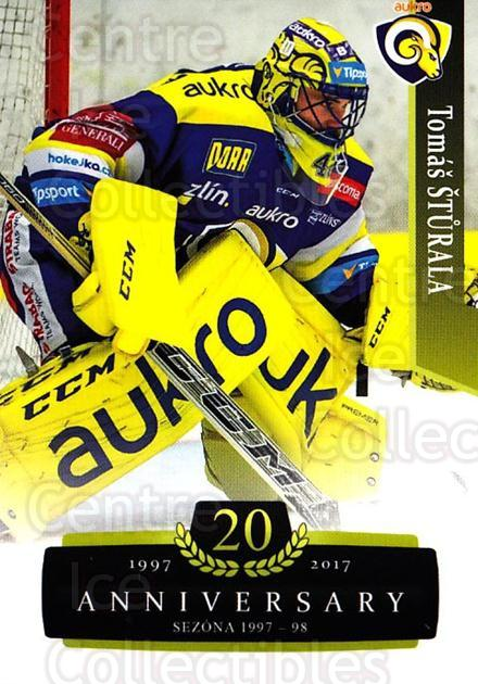2017-18 Czech OFS Classic Anniversary #159 Tomas Sturala<br/>2 In Stock - $2.00 each - <a href=https://centericecollectibles.foxycart.com/cart?name=2017-18%20Czech%20OFS%20Classic%20Anniversary%20%23159%20Tomas%20Sturala...&quantity_max=2&price=$2.00&code=706489 class=foxycart> Buy it now! </a>